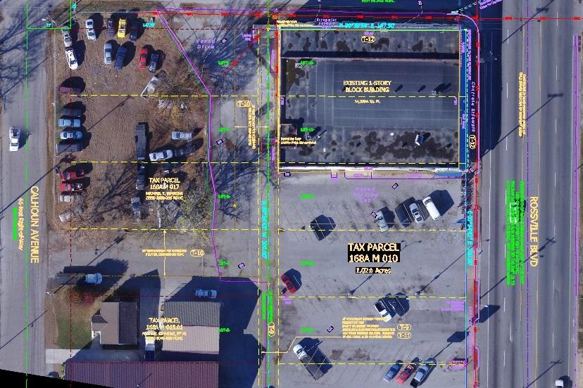 ALTA Aerial Map-boundary survey